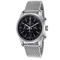 The Watchery Deal: Breitling Men's Transocean Chronograph Watch w/ Mesh Bracelet (Certified Chronometer) $2799 or 18k Gold Breitling Chronomat  $4400 + free shipping