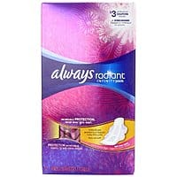 Amazon Deal: 32ct Always Radiant Infinity Regular Scented Pads w/ Wings