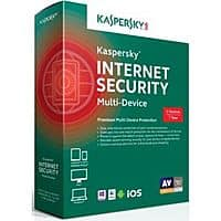 Frys Deal: Kaspersky Internet Security (Up to 5-Devices)