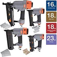 Home Depot Deal: 4-Piece HDX Pneumatic Finishing Kit
