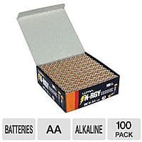 100-Pack Ultra N-RGY AA or AAA Batteries $15 + Free Shipping