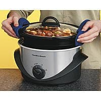 Sears Deal: 4-Qt. Hamilton Beach Oval Slow Cooker (Stainless Steel)