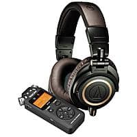 Adorama Deal: Audio-Technica ATH-M50xDG (Limited Edition Dark Green) + Tascam DR-05 Audio Recorder $189 + free shipping