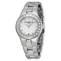 JomaShop Deal: Baume and Mercier Linea Black Dial Stainless Steel Ladies Watch $499 + free shipping