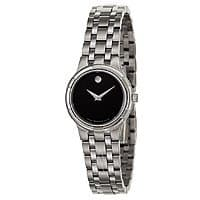 Ashford Deal: Movado Men's or Women's Metio Watch w/ Stainless Steel Bracelet