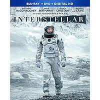 Amazon Deal: Interstellar (Bluray/DVD/Digital)