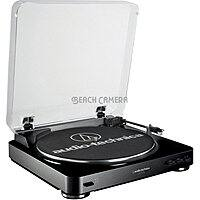 Beach Camera Deal: Audio-Technica AT-LP60 Fully Automatic Belt Driven Turntable $80 + free shipping