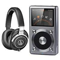 Adorama Deal: FiiO X3 II Music Player + Audio-Technica ATH-M70X Headphones $350 + free shipping