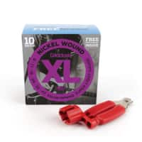 World Music Supply Deal: 10-Pack D'addario EXL120 Guitar Strings + Restring Tool