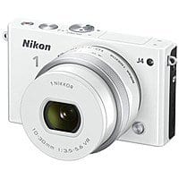 BuyDig Deal: Nikon 1 J4 Digital Camera w/ 10-30mm Lens (Refurbished)  $190 + Free Shipping or w/ Underwater Enclosure $220