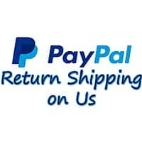 Return Shipping for Paypal Purchased Items ($30 max per claim)