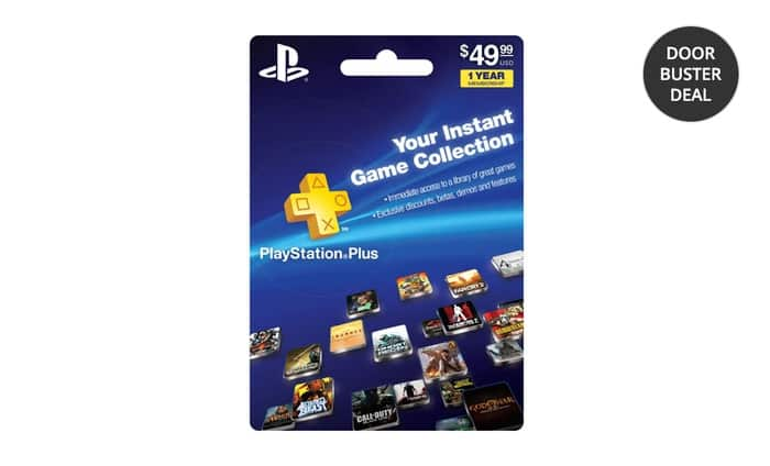 1-Year Playstation Plus Card $29.99 Groupon Free Shipping