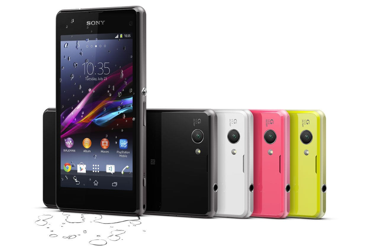 "16GB Sony Xperia Z1 Compact 4.3"" Quad Core Android Unlocked Smartphone $349.99 with free shipping *Back Again*"