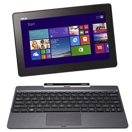 """ASUS Transformer T100 10.1"""" Tablet: TZ3740 1.86GHz, 2GB DDR3, 64GB SSD, Win 8.1  $250 + Free Shipping"""