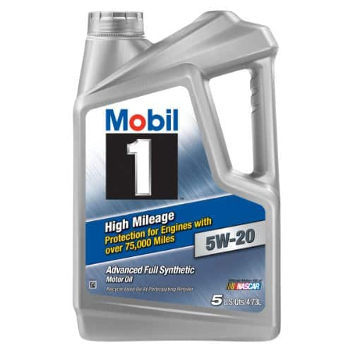 Mobil 1 Full Synthetic Motor Oil Five Quart Jug $10.66 AR Various Weights @ Walmart, Amazon