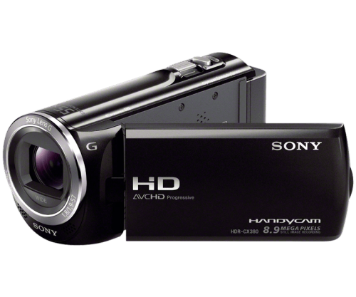 Sony HDR-CX380 1080p Handycam Camcorder (Refurb)  $125 + Free Shipping