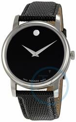 Men's Movado Museum Watch w/ Leather Strap  $179 + Free Shipping