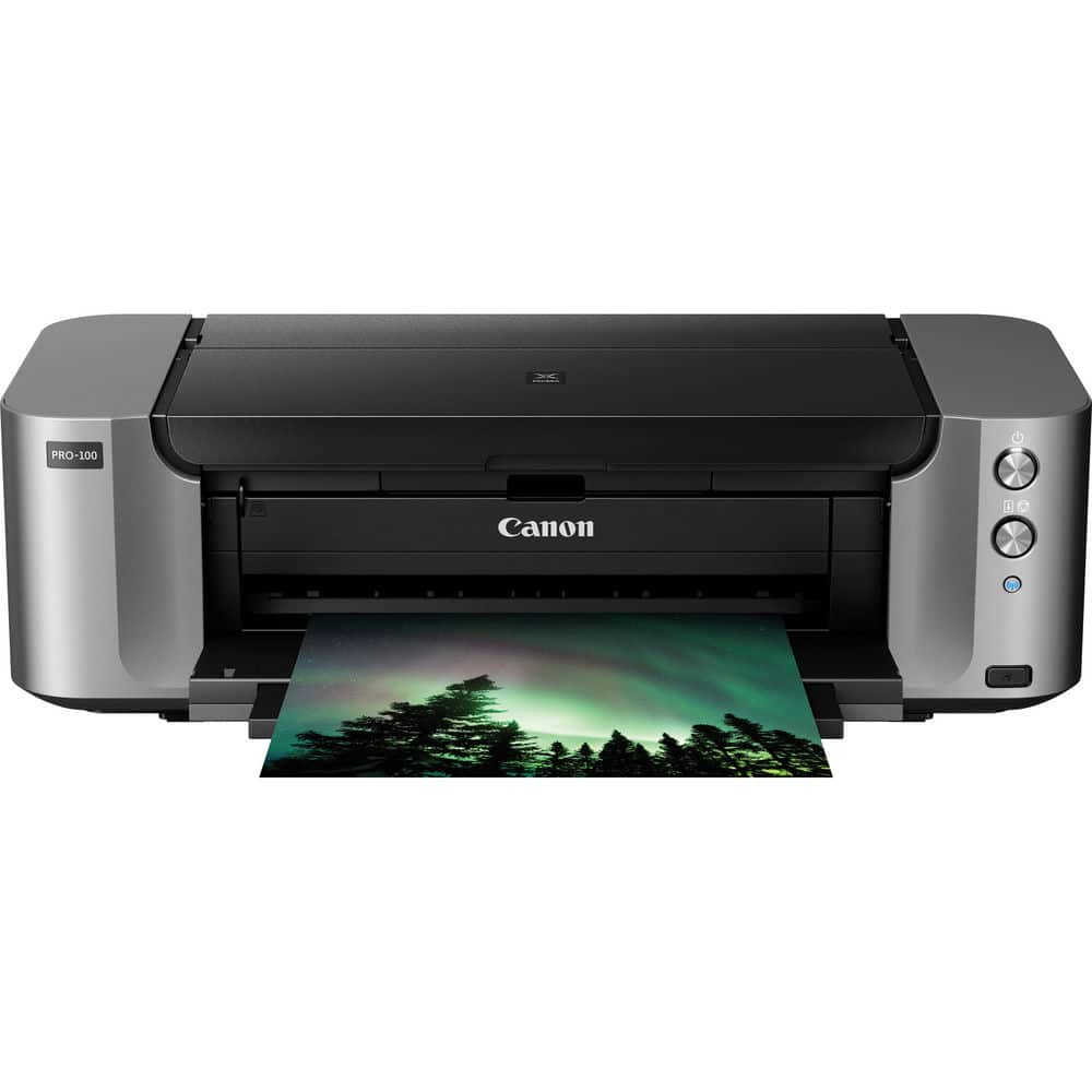 Canon PIXMA PRO-100 Color Wireless Photo Printer $48 after $250 rebate + Free Shipping
