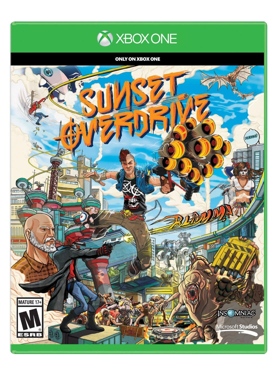 Sunset Overdrive (Xbox One)  $38 + Free Shipping