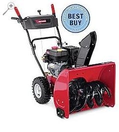 "DEAD+Craftsman 179cc 24"" path Two-stage Snowblower Was $599.99 now $299.99 in cart w/ Craftsman Club!"