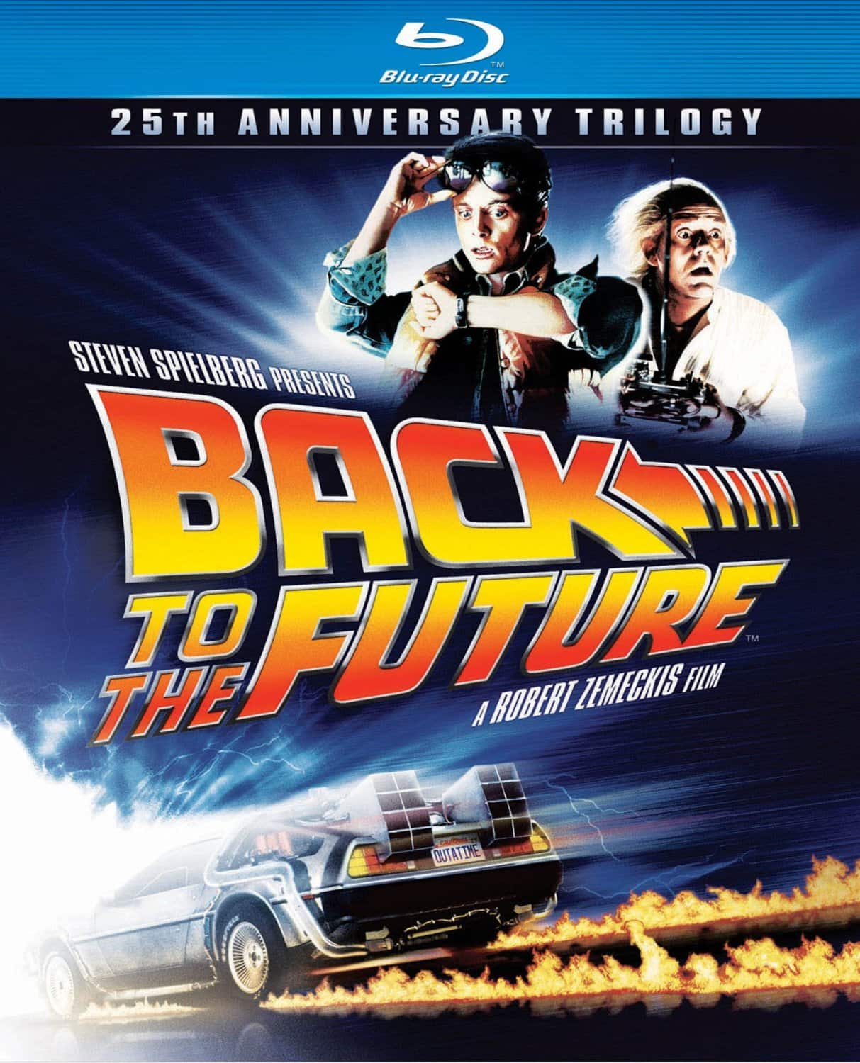 Back to the Future: 25th Anniversary Trilogy (Blu-ray)  $15