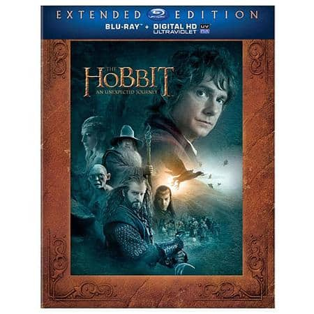 The Hobbit An Unexpected Journey: Extended Edition (Blu-ray)  $10 + Free Store Pick-Up
