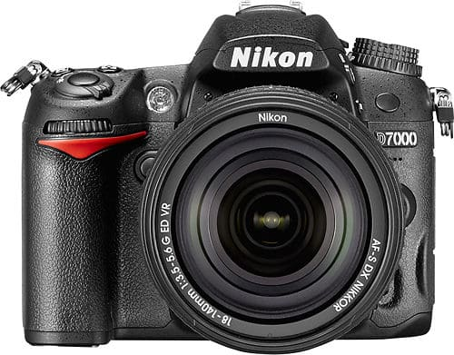 Nikon - D7000 DSLR Camera with 18-140mm VR Lens - Black @BestBuy for $699.99