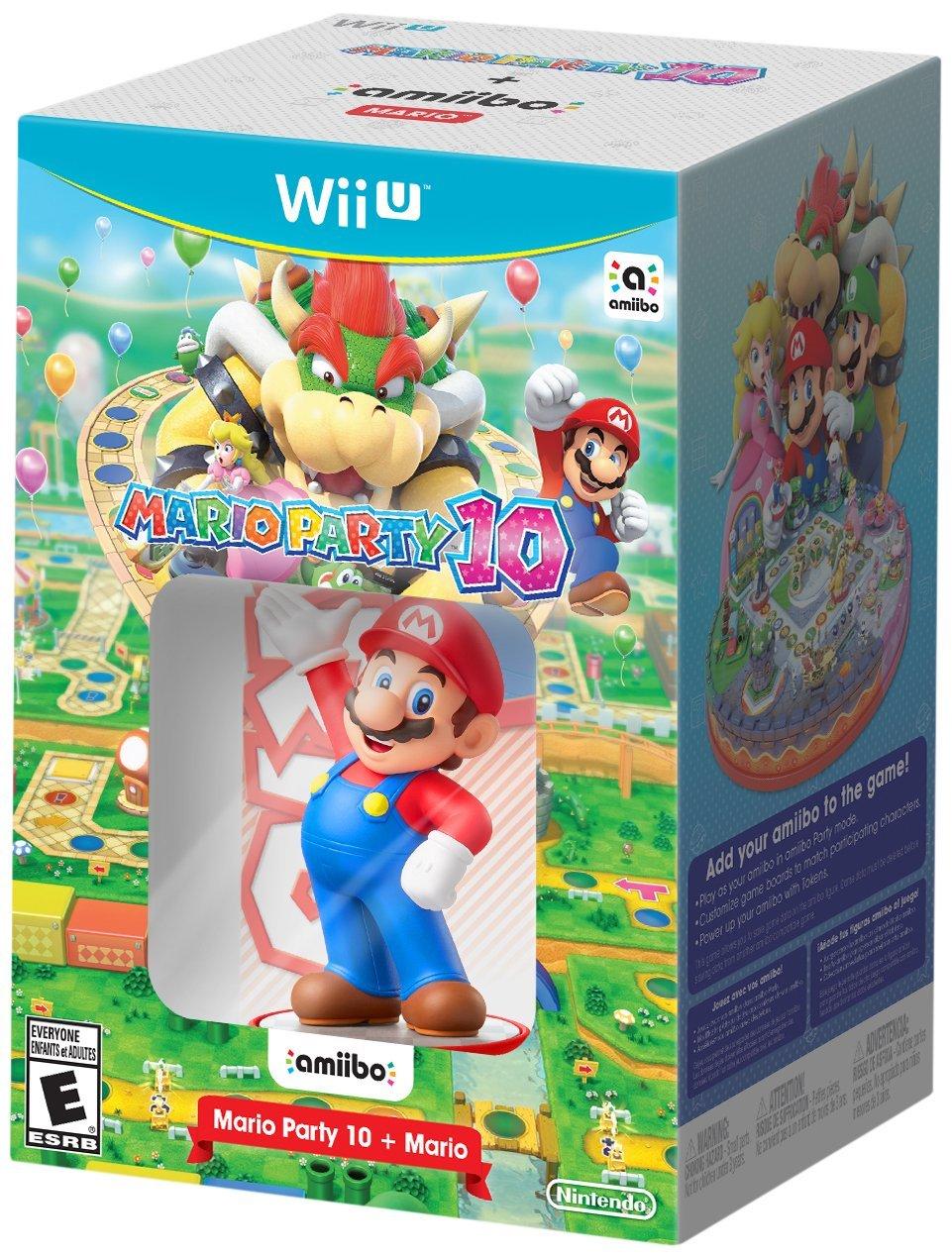 Mario Party 10 Bundle w/ Amiibo Nintendo Wii U @ Amazon PRE ORDER $59.99