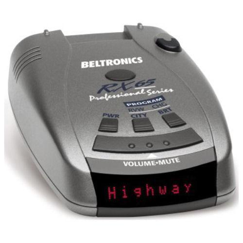 Beltronics RX65 Red Professional Series Radar/Laser Detector $110 + free shipping