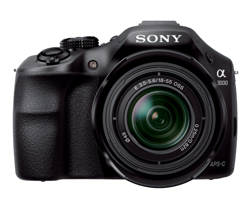 Sony Alpha A3000 20.1MP Digital Camera with 18-55mm Lens + Photoshop Elements and Premiere Elements 12 (MAC / PC) for $239 + Free Shipping!