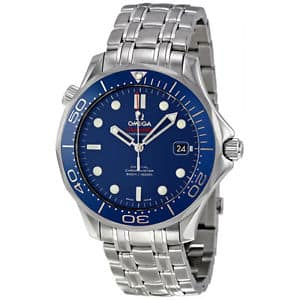 Omega Seamaster Automatic Stainless Steel Mens Watch  $2700 + Free Shipping