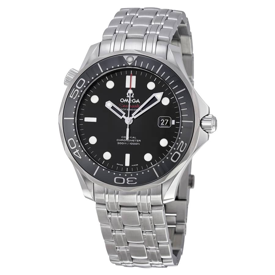 Omega Men's Seamaster Automatic Watch w/ Bracelet  $2695 + Free Shipping