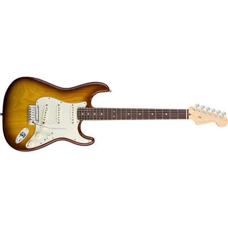 Fender American Deluxe Stratocaster Ash Electric Guitar (22 Frets, Modern C Neck, Rosewood Fingerboard) $1199 + free shipping