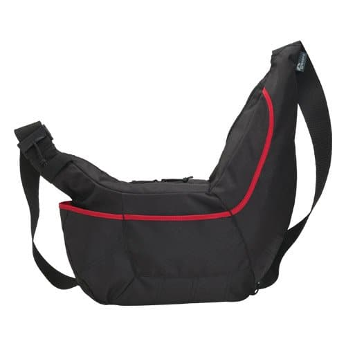 Lowepro Passport Sling II DSLR Camera Bag (Black/Red)  $17 + Free S/H