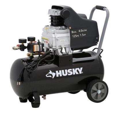Husky 8-Gallon Portable Electric Air Compressor $74 + Free Store Pickup ~ Home Depot