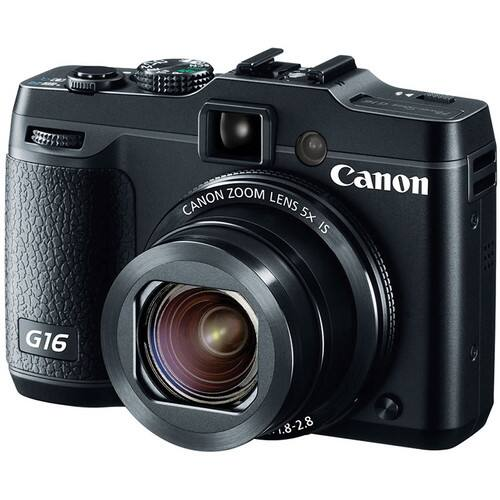 Canon G16 Digital Camera + Pro-100 Printer & Goodes $250 after $350 rebate + free shipping