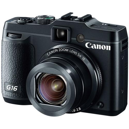 Canon G16 Digital Camera + Pro-100 Printer & Goodes $250 after $350 rebate + free shipping