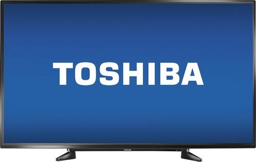 "Best Buy Daily Deal - Toshiba - 55"" Class (54.6"" Diag.) - LED - 1080p - HDTV - Black $380"