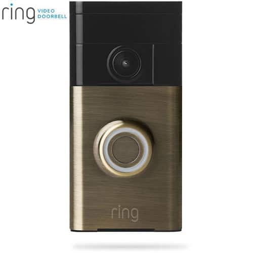 Ring Video Doorbell Wi-Fi Enabled Smartphone Compatible $169 w/coupon + FS