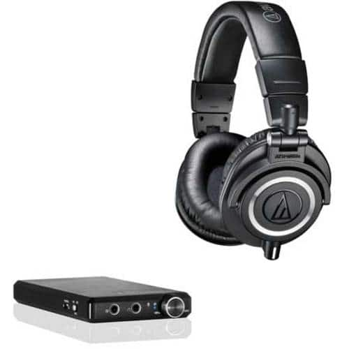Audio-Technica ATH-M50X Headphones + Fiio E12 Portable Amplifier $189 + free shipping