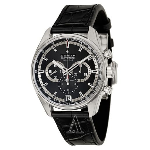 Zenith El Primero 36'000 VPH Automatic Chronograph Watch $3995 shipped
