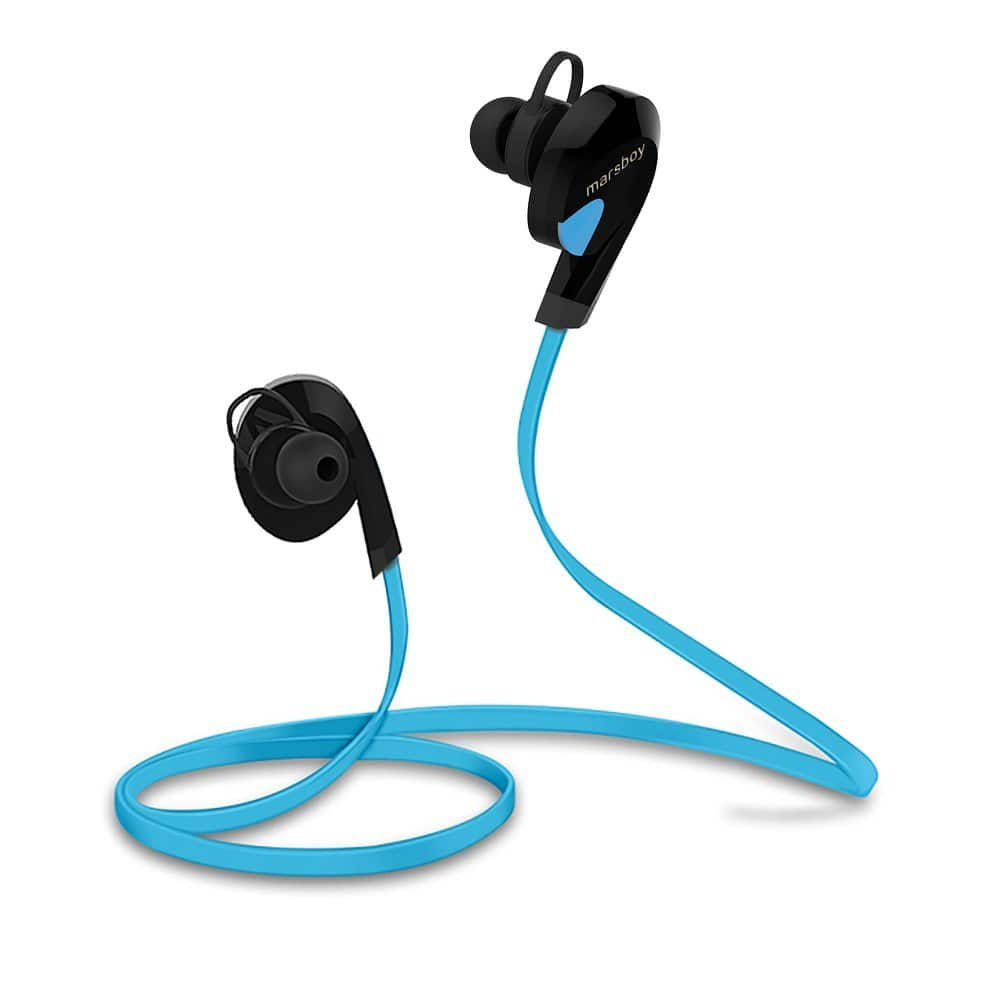 Marsboy Wireless Bluetooth V4.0 Swift Sports Sweatproof Stereo Earphones $10 AC + FSSS!