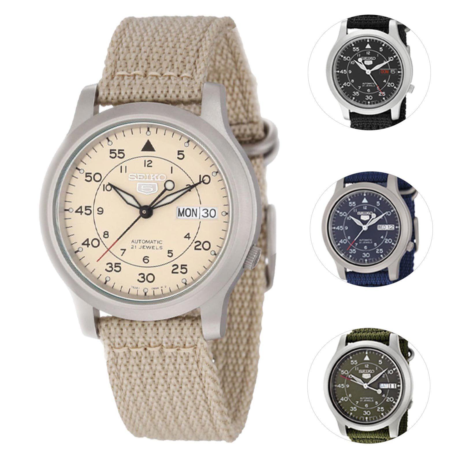 Seiko 5 Men's Automatic Watch $49.99 Free Ship