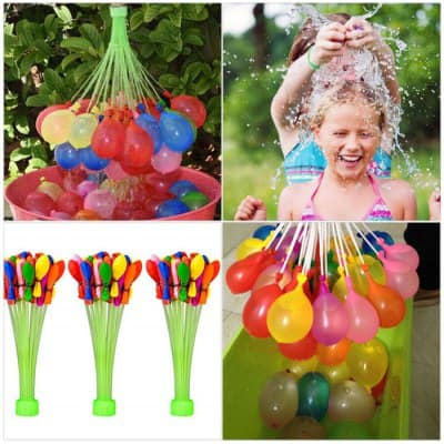 111-Count Magic Cool Water Fight Balloons $$4 or $2.80 shipped