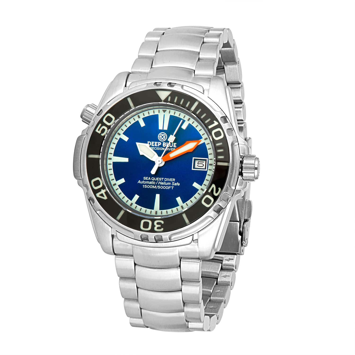 Deep Blue Men's Sea Quest Automatic Diver 1500M Stainless Steel Watch (various styles) $279 + Free Shipping