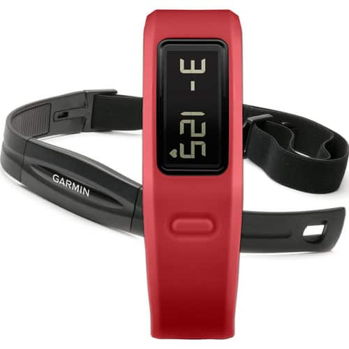 Garmin Vivofit Bluetooth Fitness Band + Heart Rate Monitor + $30 VUDU & More  $59 + Free Shipping