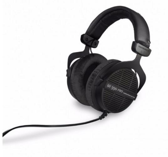 Beyerdynamic DT990 Open Back PRO Dynamic Headphones (Black Limited Edition) $149 + Free Shipping!