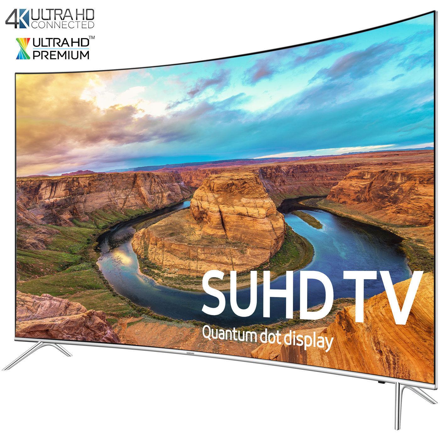 "65"" Samsung UN65KS8500 Curved 120Hz Smart 4K SUHD HDR 1000 HDTV $1949 + free shipping"
