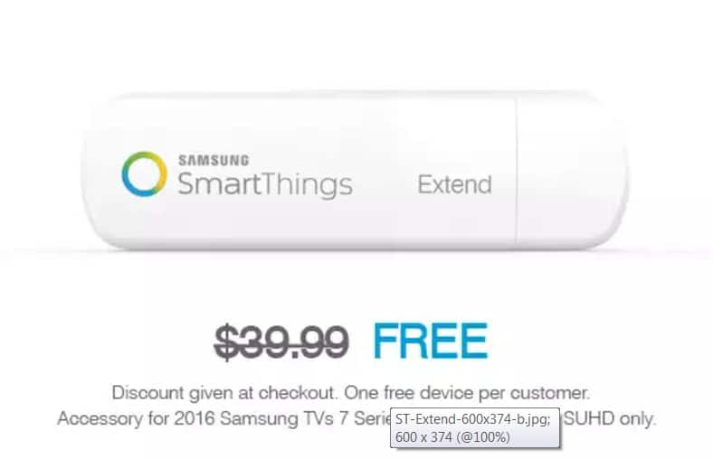 Samsung SmartThings Extend (Pre-order)  Free