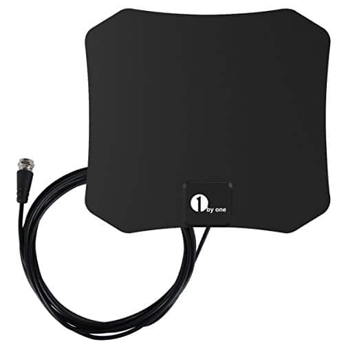 1byone 25 Miles TV antenna  only $7.99 AC @ Amazon